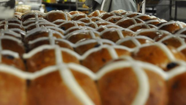 Some people were unhappy to see hot cross buns already at supermarkets.