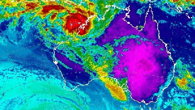 Australia is due for some extreme weather over the New Year period. Picture: Bureau of Meteorology What's the weather like for NYE?