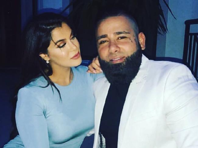 Sanaa Mehajer with her new husband Moudi Tajjour