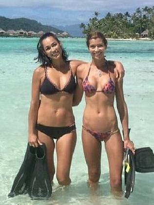James Packer's girlfriend, Kylie Lim (on the right). Picture: facebook.