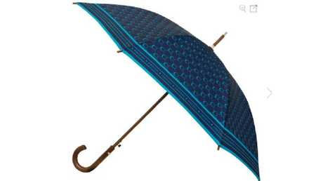 The Oroton signature large umbrella.