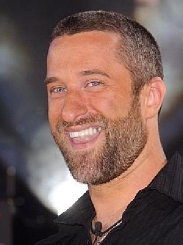 Dustin Diamond plays the disgraced movie mogul in a new music video. Picture: Splash News