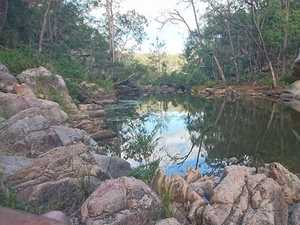 Public water hole 'unsafe' for swimming