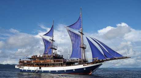 The Sea Safari 8 is a liveaboard operating in Raja Ampat.