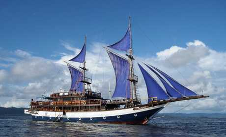 The Sea Safari 8 is a liveaboard operating in Raja Ampat.
