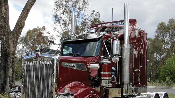 PARADISE: Troy, Wayne and Rick Cornwills' Kenworth T908, Paradise, in all its glory.