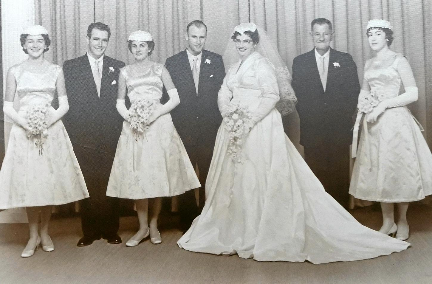 LONG LOVE: Lawrence and Margaret Percy celebrate their 60th wedding anniversary today.