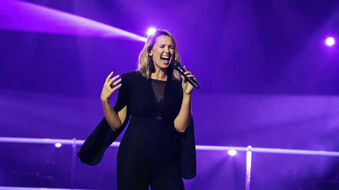 Recording artist and former contestant on The Voice, Brooke Schubert will be playing The Royal on New Year's Eve. Supplied by Channel 9.