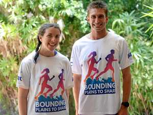 Inspiring stories keep runners powering through 4000km trip