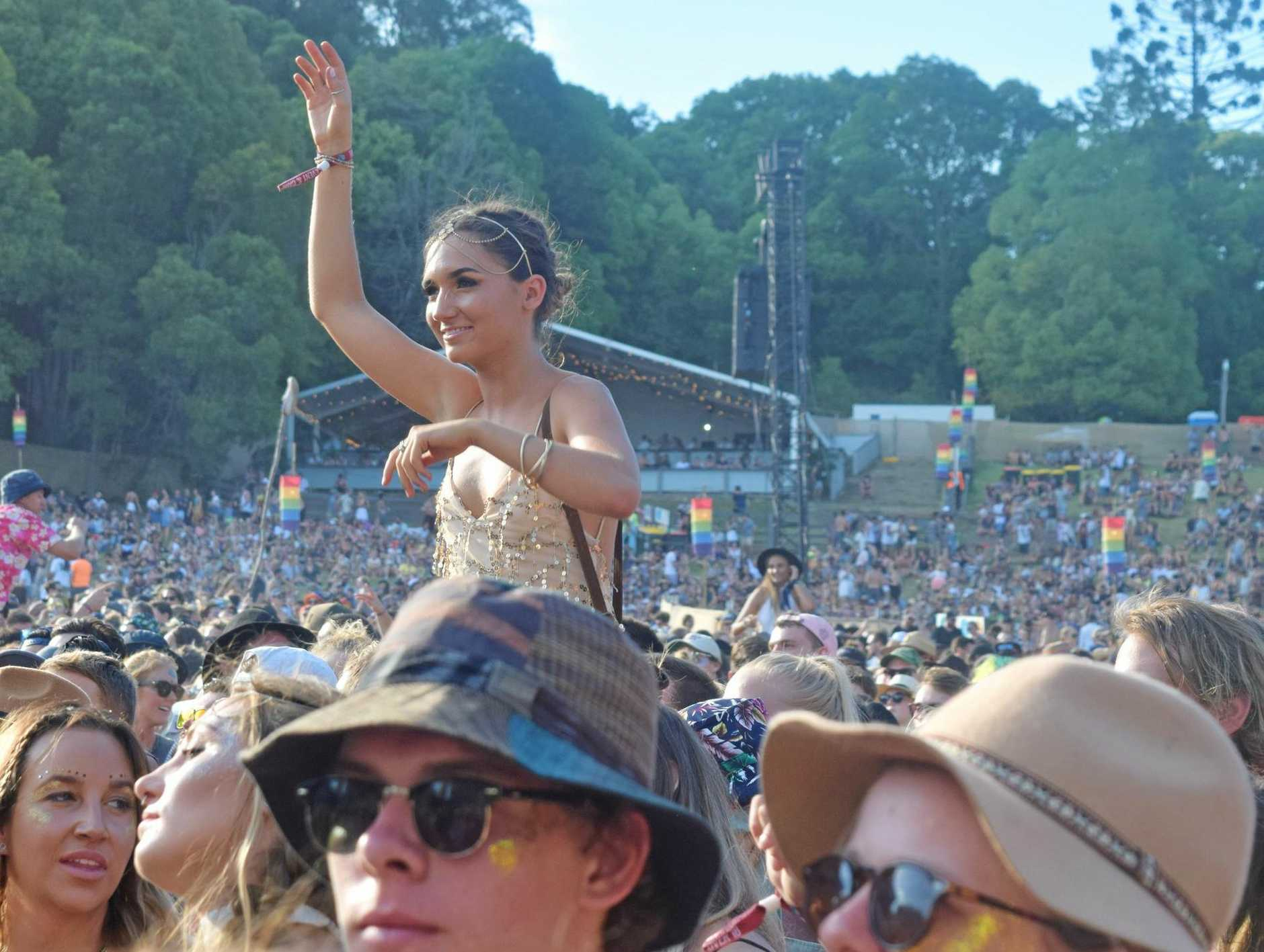 LOCAL TALENT: Crowds are set to enjoy a plethora of local talent in The Grove at Falls Festival Byron Bay 2017-18.
