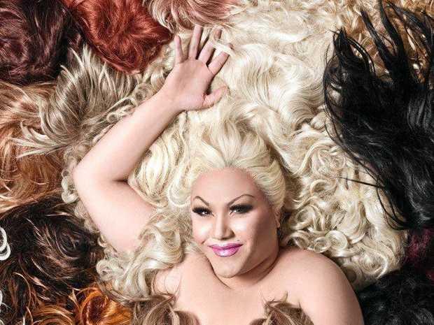 STUNNER: Sydney singer and drag queen Trevor Ashley.