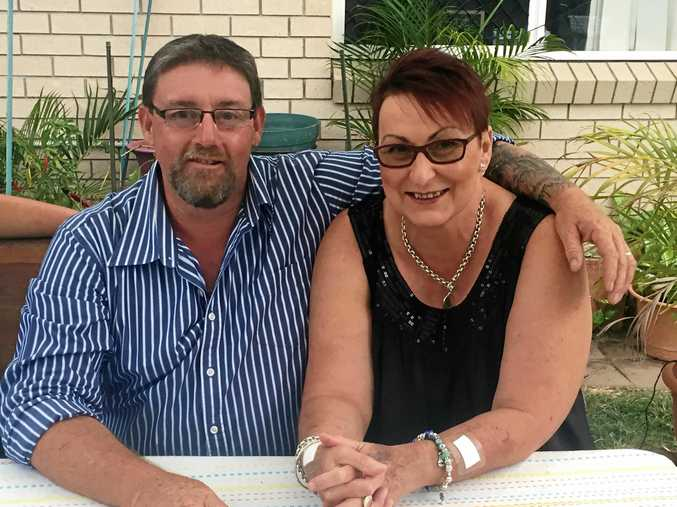 Barb and her husband Tony Coyle: