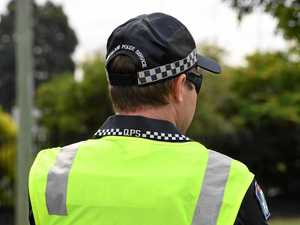 Police and ambulance on the scene of Gympie region collision