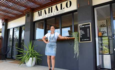 Owner of Mahalo Juice Bar and Eatery, Gina Enkuzis, has always dreamed of opening a juice bar in Yeppoon.
