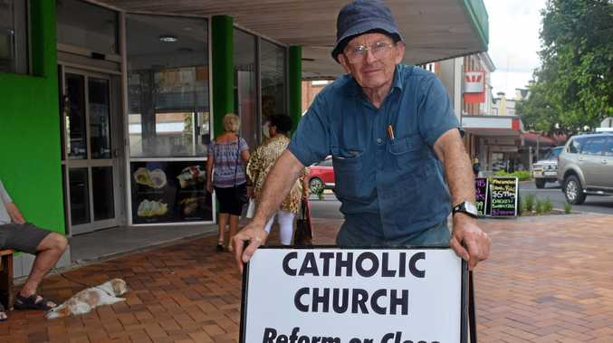 ON A MISSION: Frank Lightfoot wants reform in the Catholic Church after the findings of the Royal Commission into Institutional Responses to Child Sexual Abuse.