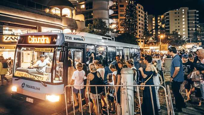 FREE TRAVEL: Sunbus buses will operate on all routes from 3pm on New Year's Eve.