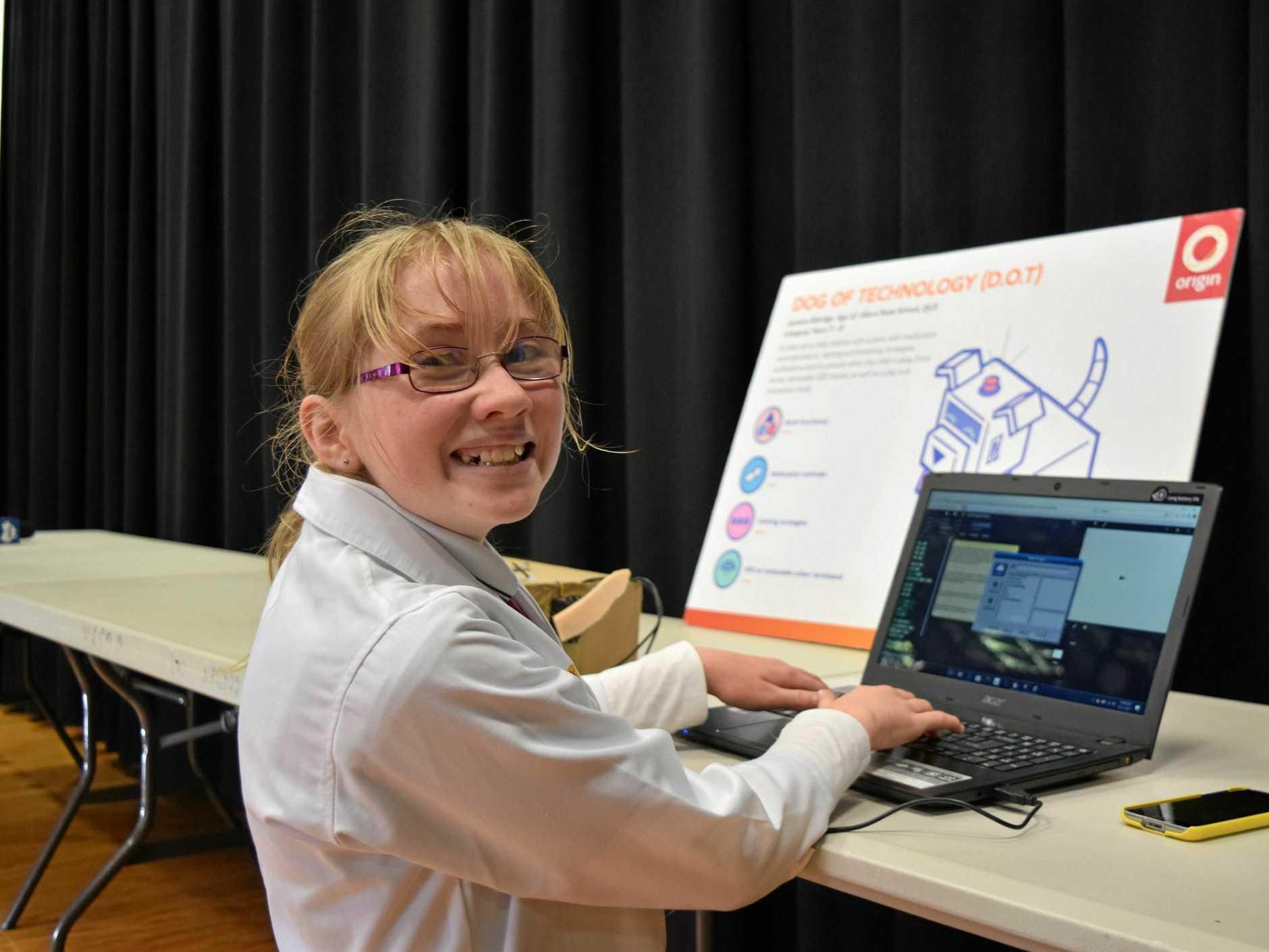 Jasmine Eldridge is off to NASA after winning a national Origin Energy competition.