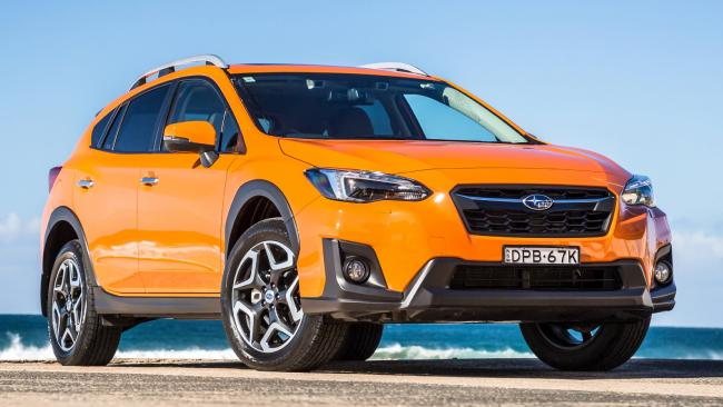 The Subaru XV is the best of the baby SUVs. Pic: Thomas Wielecki.