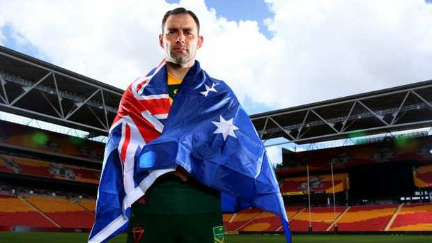 Kangaroos captain Cameron Smith.