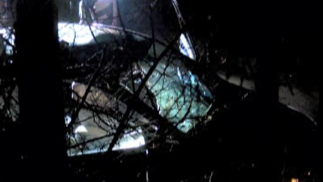 A Michigan man was killed when a sandbag smashed through a windshield. Picture: WTOL via NNS