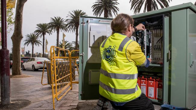 The latest roll out data from NBN Co claims 3.35 million premises were activated in December. Photographer: Cole Bennetts/Bloomberg