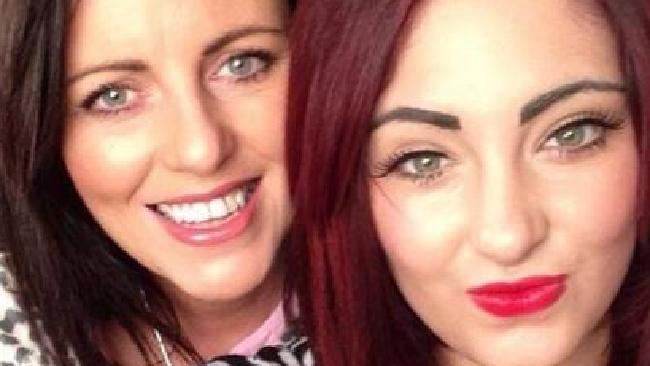 Jayne Toal Reat (left) was stabbed to death after trying to protect her daughter Charlotte (right) during a Christmas Day brawl in Belfast. Picture: Facebook