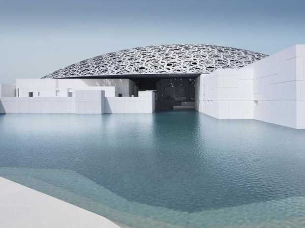 Louvre Abu Dhabi's exterior. Picture: Louvre Abu Dhabi/Mohamed Somji