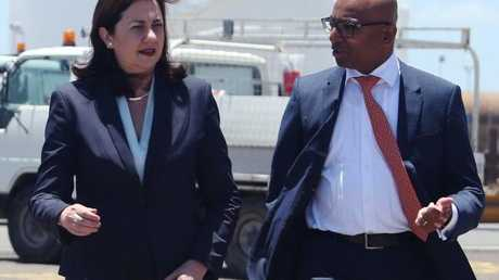 Jeyakumar Janakaraj said he had not spoken with the Premier since the move but said the two offices were still talking. Picture: Tara Croser