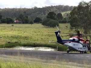 VIDEO: Chopper takes off