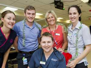 Toowoomba Hospital staff and their New Year
