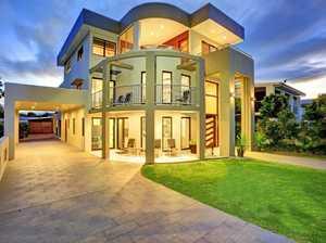 PHOTOS: Three-level home on market for $1.6 million