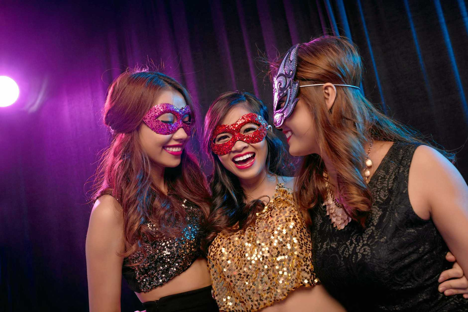 IN DISGUISE: The Metro Hotel is holding a masquerade party.