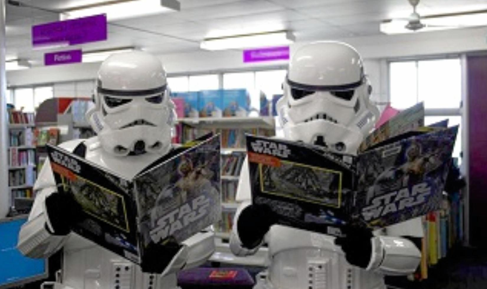 Star Wars Day will be held at the Toowoomba City Library.
