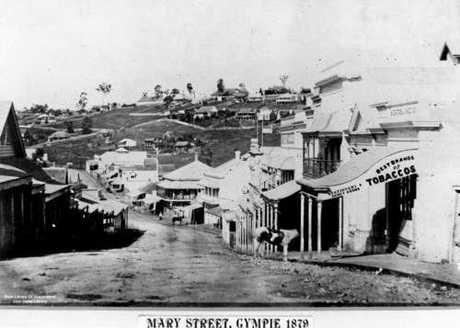 Mary Street in 1879.
