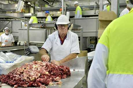 INTERNATIONAL EXPORT: Beef produced at the new factory will be sent to Asian countries, primarily China.