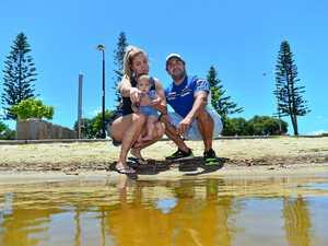 Family's terrifying encounter with massive shark in public lake