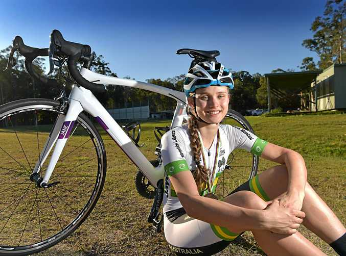 RACE READY: Alexandra Martin-Wallace will compete at the Road National Championships in Ballarat next week.