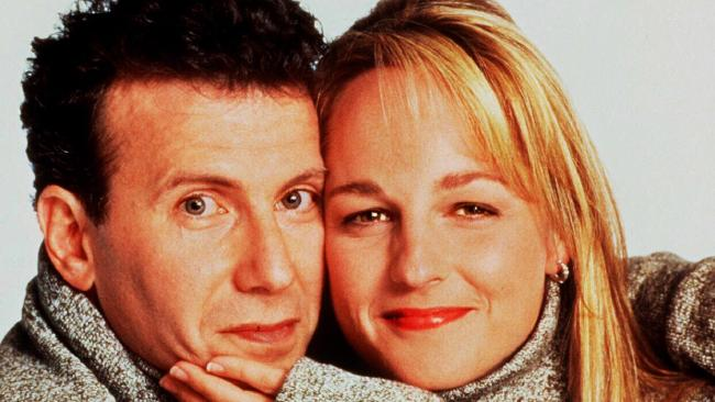 Talks are underway for Paul Reiser and Helen Hunt to bring back the 90s hit Mad About You. Picture: Supplied