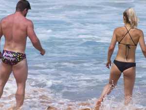 Frances Abbott's incredible bikini bod