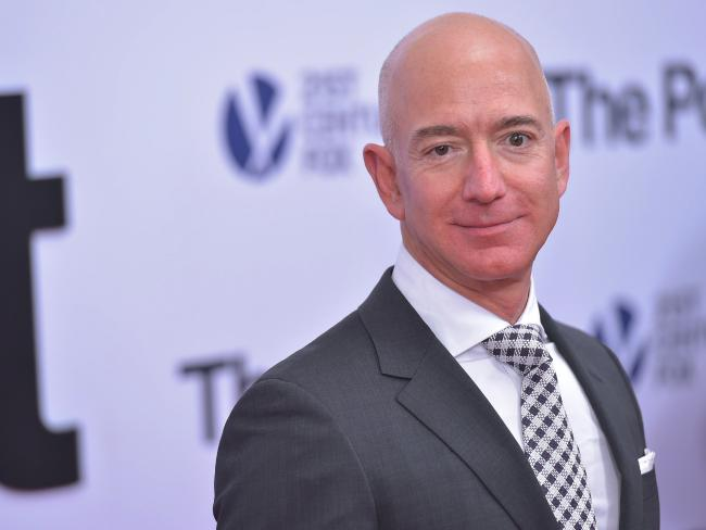 Amazon CEO Jeff Bezos. Picture: Mandel Ngan