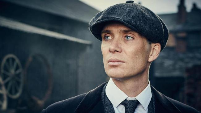 Cillian Murphy heads the cast of glitzy crime drama Peaky Blinders
