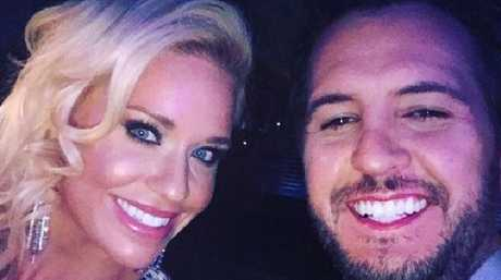 Luke Bryan and his wife Caroline Boyer. Picture: Instagram