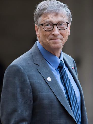 Bill Gates. Picture: Ian Langsdon