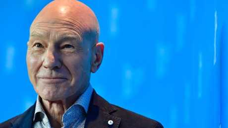 Patrick Stewart now knows the truth about his junk.