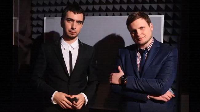 Vladimir Kuznetsov and Alexei Stolyarov, known as Vovan and Lexus. Source: Vovan222Prank.