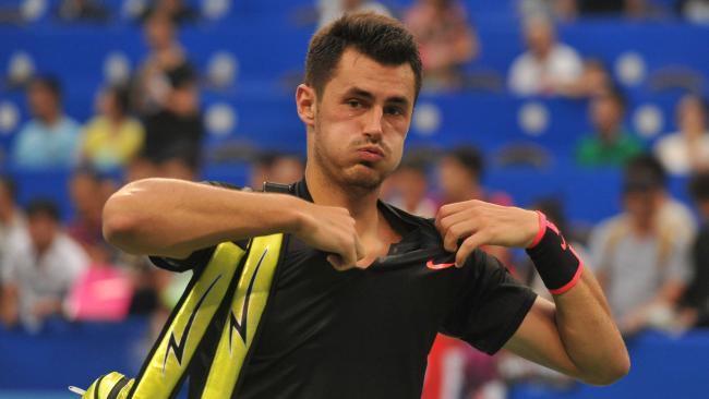 Bernard Tomic's fall from grace continues.