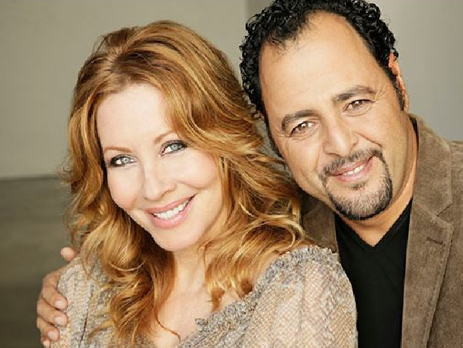 Paul Hogan's ex Linda Kozwolski and rumoured new husband Moulay Hafid Babaa. Picture: dreamydestiny.com
