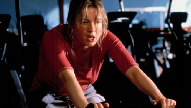As per every other year, my interest in fitness was brief. (Pic: Bridget Jones)
