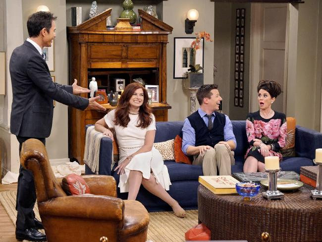 After 11 years off-air, Will & Grace returned this year to widespread acclaim. Picture: Chris Haston/NBC via AP