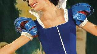 Snow White wore a blue bodice. Picture: Supplied